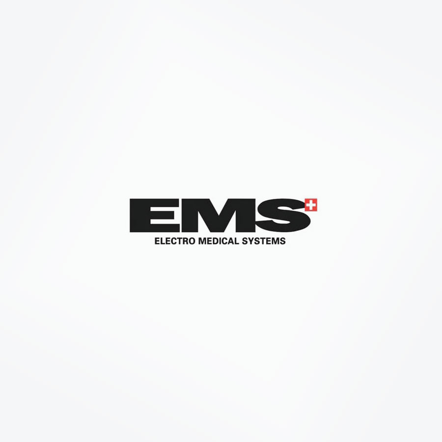 EMS Logo White